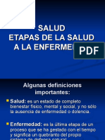 Salud Etapas