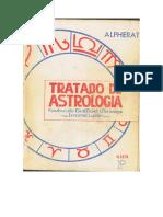 Alpherat, Tratado de Astrologia