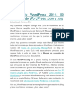 Manual de WordPress 2014