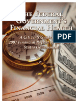 The Federal Government's Financial Health