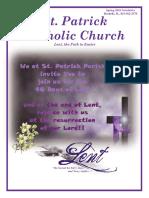 Lenten Pilgrimage - Peregrinage pascual