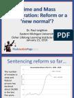 Crime and Mass Incarceration