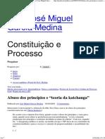"Abuso Dos Princípios e ""Teoria Da Katchanga"" « Prof. José Miguel Garcia Medina"