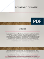 INTERROGATORIO DE PARTE