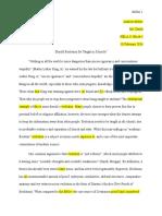 1984 essay revision