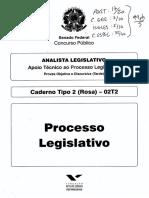 Senado - Prova_Analista PL
