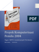 Proyek Komputerisasi Pemilu 2004