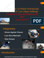 Control de Un Robot Humanoide de 17 DOF - Presentación 1er Avance - Robótica