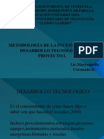 Metologia Proyecto I Maria Estrella