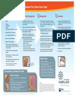 Flow Chart Diabetic Foot Ulcer