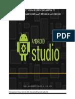 Praktikum Dasar Pemrograman Android
