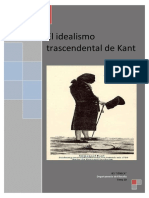 El Idealismo Trascendental de Kant
