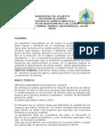 Determinacion Argentometrica de Cloruros