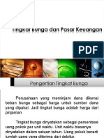 P5. Tingkat Bunga Dan Pasar Keuangan