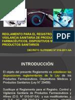 Clase 12 -Reglam. Para El Registro , Control y Vigilancia San. de Pf, Dm y Ps , Copia