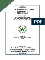 Konsep Dan Peran Administrasi Dan Manajemen - Pertemuan 4