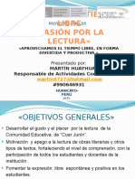 PROMOCIÓN DE LA LECTURA (ACTIVIDADES COCURRICUALRES).pptx