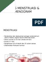 SIKLUS MENSTRUASI & MENOGRAM