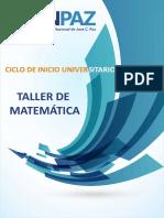 Matemáticas CIU 2016