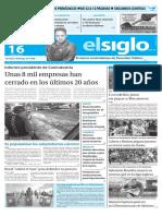 Edición Impresa El Siglo 16-05-2016