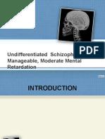 Psychiatric Case Presentation
