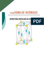 Estructura Cristalina de Los Solidos