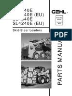 Gehl Manual Partes 3640e 3840e 4240e
