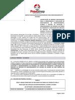 Contrato de Fornecimento e Instalação de Equipamentos Para Monitoramento Nº 017
