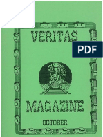 Veritas Vol 1 No 1