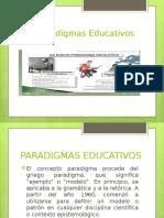 Los Paradigmas Educativos