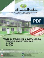 Brosur Pondok Pesantren Al Manshur Darunnajah 3 Serang Banten