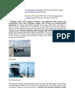 Dermaga Adalah Tempat Kapal Ditambatkan Di Pelabuhan