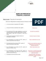 Banco de Preguntas Para Pruebas Psicometricas II