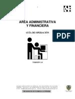 Guía Área Administrativa y Financiera Museo