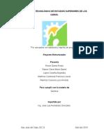 Proyecto integrador (Quimica)
