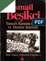 Tunceli Kanunu 1935 Ve Dersim Jenosidi - Ismail Beikci