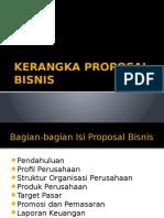 Kerangka Proposal Bisnis