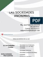 CLASE 3°_Sociedad Anónima