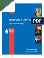 Politicas Publicas de Genero y Vejez
