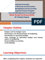 Master Budget and Responisbiltiy.ppt
