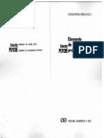 Enachescu Constant In - Elemente de Psihologie Proiectiva