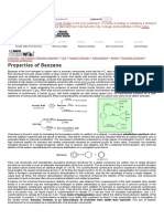 Properties of Benzene - Chemwiki