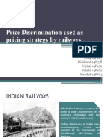 14C9 Pricing Strategy - Indian Railways
