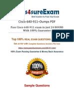 640-911 Real Braindumps PDF Demo