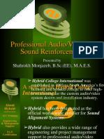 Pro Sound Reinforcement