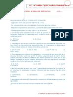 Concurso Interno de Matematica Hora