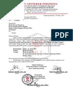 Surat Udangan Dewan Pengawas PD IAI Banten