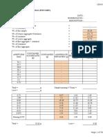 0.0 CE642 Lab Observation Results