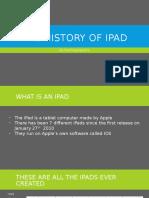 the history of ipad
