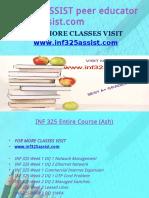 INF 325 ASSIST Peer Educator-Inf325assist.com